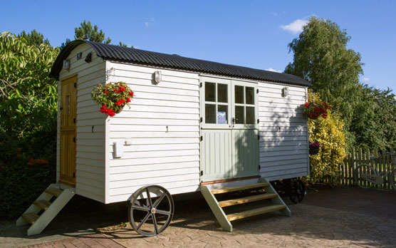 Red Sky Shepherds Huts
