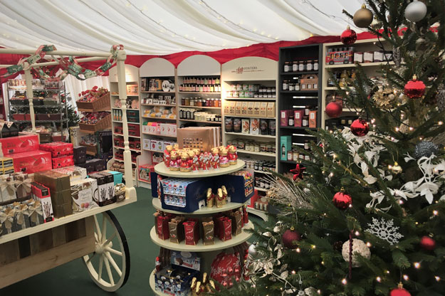 CHRISTMAS MARQUEE OPEN